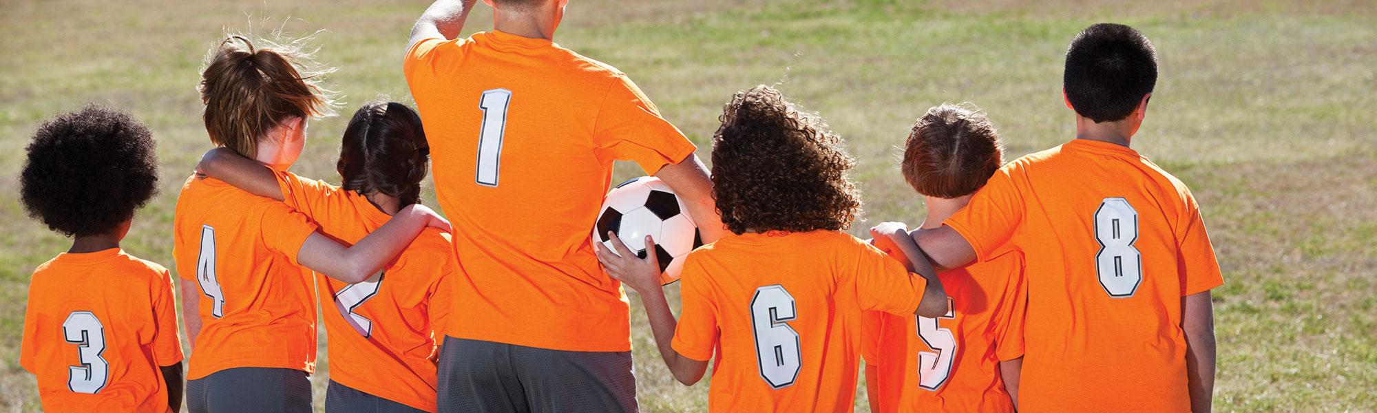 Soccer Team Banner
